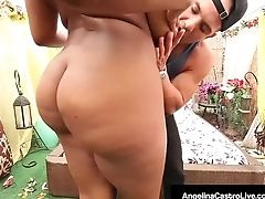 Angelina Castro, Ass, Babe, BBW, Big Ass, Big Tits, Blowjob, Brunette, Chubby, Cuban,