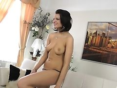 Anal Sex, Ass, Casting, Couple, Cute, Doggystyle, Hardcore, High Heels, Missionary, Natural Tits,