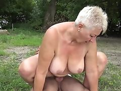 69, BBW, Granny, Nature, Old, Outdoor, Public, Rough, Schoolgirl,