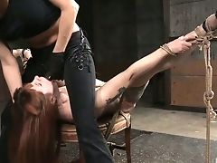 BDSM, Beauty, Bound, Cute, Ginger, Horny, Redhead, Rough, Sex Toys, Slut,
