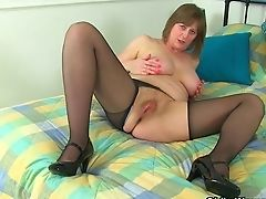 Bobcat, British, Mature, MILF, Nylon,