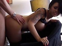 American, Brunette, Eva Angelina, From Behind, Hotel, MILF, Money, Pornstar, Tattoo, White,