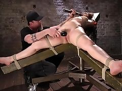 BDSM, Bondage, Desk, Fetish, Friend, Gabriella Paltrova, Game, Hardcore, Submissive,