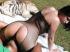 Anal Beads, Anal Sex, Ass, Ass Fucking, Blowjob, Bodystocking, Bold, Brunette, Choking Sex, Facial,