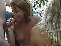 Big Tits, Blowjob, Dick, Doggystyle, Felching, Foursome, Handjob, Hardcore, MILF, Missionary,
