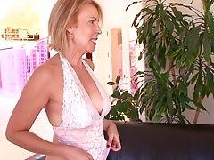 Big Ass, Big Tits, Blonde, Erica Lauren, Facial, Hairy, Interracial, Mature, Pornstar,