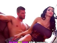 Amy Anderssen, Blowjob, Brunette, Huge Tits, Mature, POV,