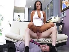Blowjob, Brunette, Cowgirl, Cuckold, Cum In Mouth, Cumshot, Deepthroat, Doggystyle, Hardcore, HD,