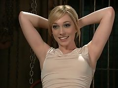 Abuse, American, BDSM, Blonde, Cute, Hardcore, Humiliation, Lily Labeau, Princess Donna, Public,