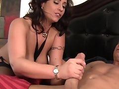 Bedroom, Big Tits, Couple, Cute, Eva Notty, Fake Tits, Fondling, Hardcore, Pornstar, Slut,