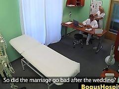 Big Tits, Examination, Fingering, Lesbian, Nurse,