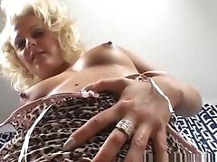 Blonde, Cum Swallowing, Facial, Fishnet, Jessica Love, Mature, Pornstar,
