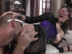 Anal Sex, Blonde, Blowjob, Bodystocking, Brunette, Couch, Cowgirl, Cum In Mouth, Cumshot, Dick,