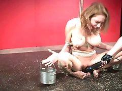BDSM, Big Tits, Blonde, Bondage,