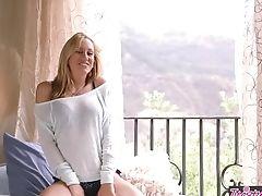 Babe, Brett Rossi, Masturbation, Solo,
