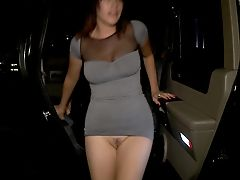 Ass, Brunette, Clothed Sex, Club, Dress, Jackie Daniels, Licking, Music, Panties, Party,