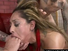 Anal Sex, Deepthroat, Doggystyle, Face Fucking, Hardcore, Latina, Mmf, Pornstar, Rimming, Rough,