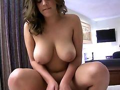 Amateur, BBW, Bedroom, Big Tits, Couple, Dick, Fat, Girlfriend, Hardcore, Katie Cummings,