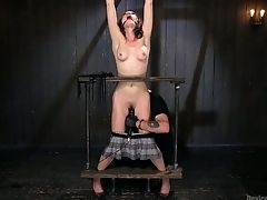 BDSM, Bondage, Gagging, Lily Labeau, Rough, Slim, Whore,
