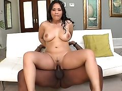 BBW, Big Ass, Big Black Cock, Big Cock, Brunette, Ethnic, Interracial, Jessica Bangkok, Reality,