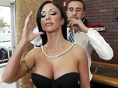 Anal Sex, Big Tits, Brunette, Desk, From Behind, Hardcore, Jewels Jade, MILF, Shop, Story,