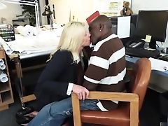 Big Tits, Blonde, Boss, Couple, Fake Tits, Interracial, MILF, Office, Pornstar, Zoey Andrews,