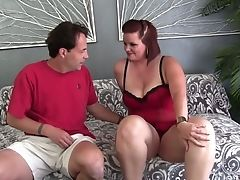 Big Tits, Blowjob, Bold, Brunette, Cum, Cumshot, Hardcore, Natural Tits, Redhead,