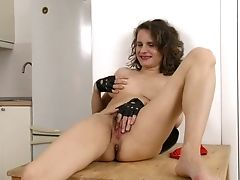 Amateur, Ass, Boobless, Clit, Curly, Desk, Game, Hairy, HD, Housewife,