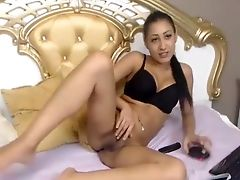 Brunette, Feet, Foot Fetish, Game, Pussy, Webcam,