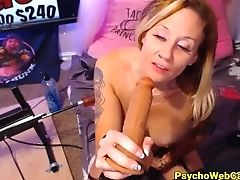 Anal Sex, Big Black Cock, Insertion, Masturbation, Mistress, Model, Pussy, Solo, Tattoo, Webcam,