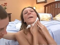 Amateur, Blonde, Couple, Cum, Doggystyle, Missionary, Natural Tits,