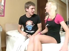 Anal Sex, Blonde, Clamp, Couple, Creampie, Cumshot, Gaping Hole, Russian, Shy, Teen,