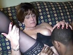 Black, Granny, HD, Interracial, Mature, Mom, Old And Young,