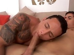 Anal Sex, Ass, Blowjob, Brazilian, Cigarette, Clamp, Ethnic, Hunk, Latina, Muscular,