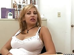 Backroom, Big Tits, Blonde, Dildo, Extreme, HD, Kitana Flores, Latina, Mature, MILF,