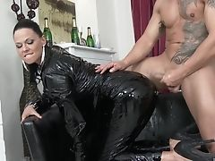 Babe, Clothed Sex, Dirty, Glamour, Group Sex, Hardcore, Leather, Orgy, Pornstar, Simony Diamond,