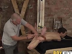 BDSM, Big Cock, Boy, Handjob, HD, Kinky, Master, Old And Young, Rough, Wax,