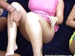 British, Cum On Tits, Cumshot, Forest, Gangbang, Group Sex, Hardcore, MILF, Natural Tits, Orgy,