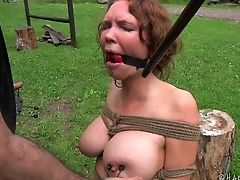 BDSM, Boots, Fetish, Outdoor, Sex Toys, Submissive, Torture,