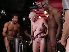 Ass, Big Black Cock, Big Cock, Big Tits, Black, Blonde, Blowjob, Boots, Bukkake, Canadian,