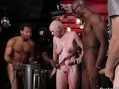 Ass, Big Black Cock, Big Cock, Big Tits, Black, Blonde, Blowjob, Boots, Bukkake, Canadian,