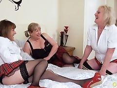 BBW, British, Granny, Lesbian, Masturbation, Mature, MILF, Mom, Old, Orgy,