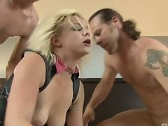 Blond, Blowjob, Mutig, Cowgirl, Cumshot, Deepthroating, Facial, Fishnets, Hardcore, Kinky,
