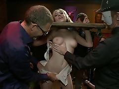 Abuse, All Holes, American, BDSM, Blonde, Domination, Gagging, Gangbang, Group Sex, Hardcore,