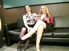 BDSM, Cherry Torn, Femdom, Fetish, Julia Ann, Lesbian, Spanking, Submissive,