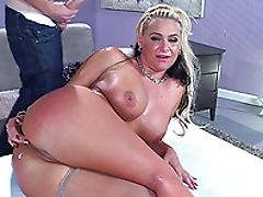Ass Fingering, Babe, Ball Licking, Big Cock, Big Tits, Blonde, Blowjob, Bra, Couple, Cowgirl,