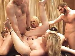 Amazing, Babe, Blonde, Foursome, Hardcore, Lollipop, Party, White,