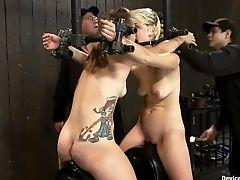 BDSM, Chloe Camilla, Moaning, Payton Bell, Sybian,