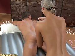 Ass, Beach, Boobless, Dick, Foot Fetish, Handjob, HD, Jerking, Massage, Oiled,