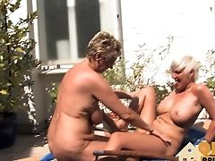 Amateur, Big Tits, Blonde, Fingering, German,